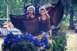 July 4, 2014 There is nothing more majestic than two Bald Eagles riding around in their nest. Happy Birthday, America.